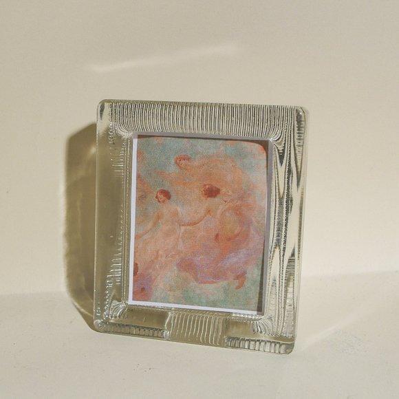 Art Deco Glass Frame